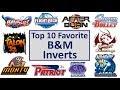 Top 10 Favorite B&M Inverts