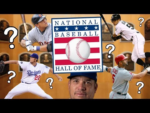Which Active MLB Players Are Hall of Famers? 2018 MLB Baseball Hall of Fame