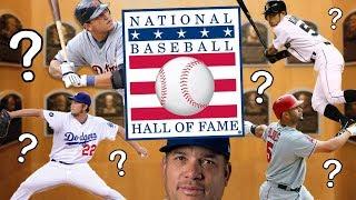Which Active MLB Players Are Hall of Famers? 2018 MLB Baseball Hall of Fame