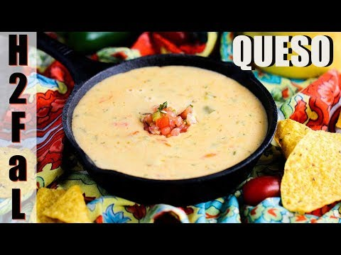 How to make easy queso cheese dip