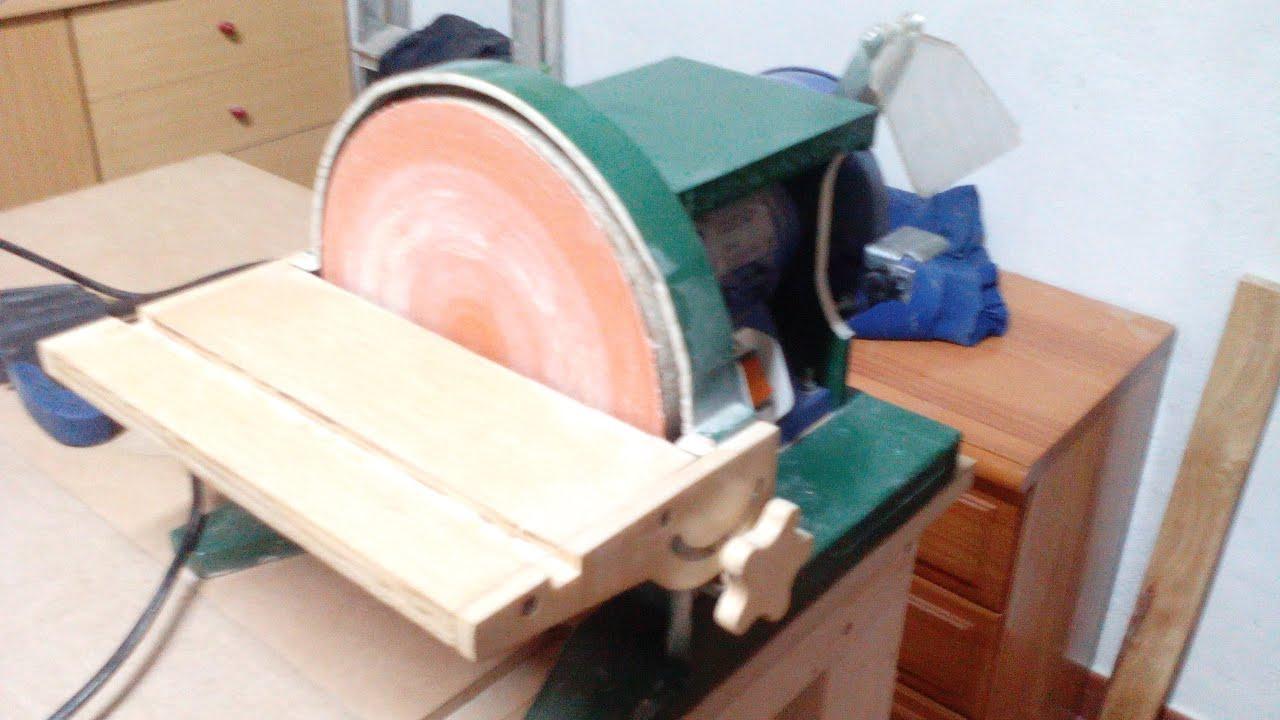Lijadora de plato 1 parte youtube - Lijadora para madera ...