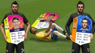 FASTEST CARD IN FIFA 18 Speed Test! (without ball)