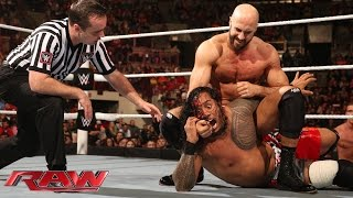 The Usos vs. Tyson Kidd & Cesaro: Raw, February 9, 2015