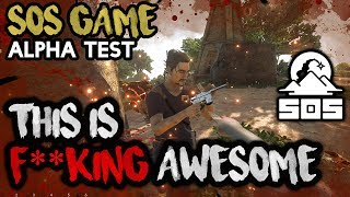 Video THIS IS F**CKING AWESOME - SOS The Game [NEW ALPHA SURVIVAL GAME] download MP3, 3GP, MP4, WEBM, AVI, FLV Juni 2018