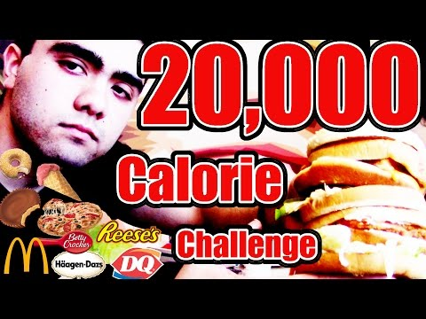 20,000 CALORIE CHALLENGE: Round 2 (18 LB Weight Gain)