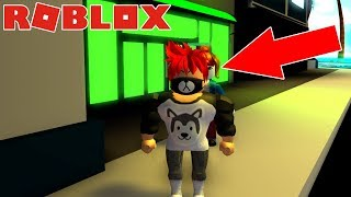 CHICA GAMER ME ACOSA EN ROBLOX ROLEPLAY
