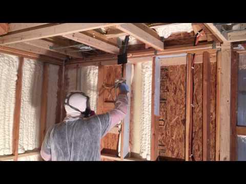 Spray Foam Wall Insulation