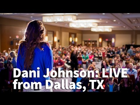 Dani Johnson LIVE from Dallas - Spiritual Equipping in the Marketplace (Recording)