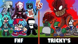 Friday Night Funkin' vs. Tricky's | Minecraft (OP BATTLE?!)