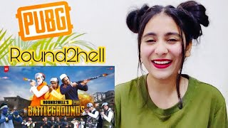 PUBG | ROUND2HELL R2HI PUBG REACTION BY ILLUMI GIRL