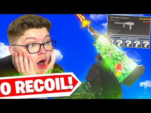 I changed my MAC 10 Class and now it has 0 RECOIL! 🤯 (Cold War Warzone)