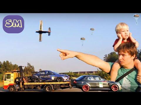 Мультики для мальчиков 3 лет I Гонки по городу гоночные машинки I Воздушная техника для детей