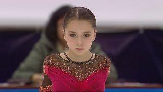 Камила Валиева Произвольная программа Женщины России по фигурному катанию 2020 21 Второй этап