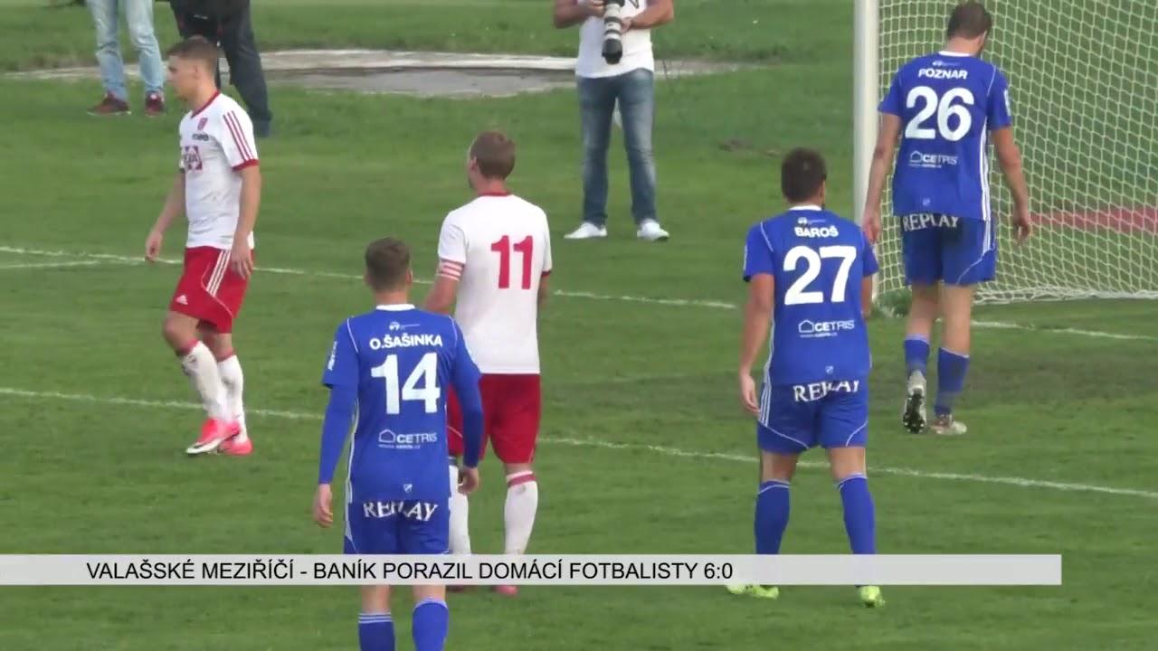 TJ Valašské Meziříčí – FC Baník Ostrava 0 6 - YouTube d5707442e3