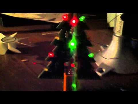 Velleman 3D Christmas Tree kit complete