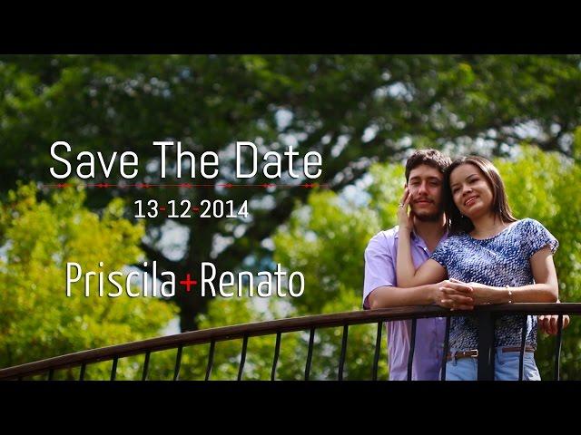 Priscila+Renato Save The Date