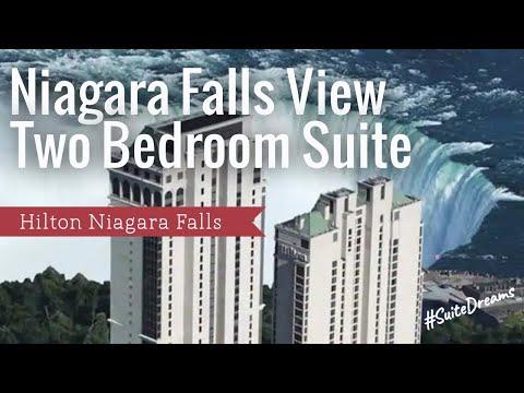 Hilton Niagara Falls 2 Bedroom Suite  #suitedreams