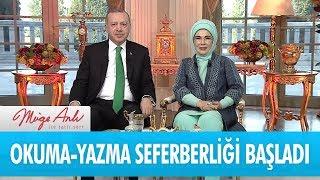 Cumhurbaşkanı Erdoğan okuma yazma seferberliğini başlattı - Müge Anlı İle Tatlı Sert 1 Şubat 2018