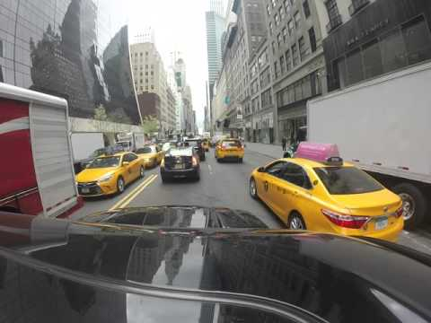 NYC TAXI RIDE with GoPro