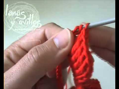 Tutorial Rosa Crochet o Ganchillo Paso a Paso en Español - YouTube
