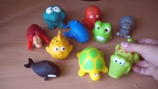 Детская игрушка для купания, резиновые игрушки для купания, обзор