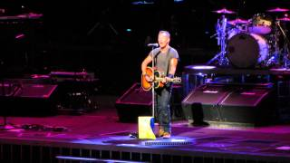 Bruce Springsteen - Surprise, Surprise (live at Allphones Arena, Sydney, 19th February 2014)