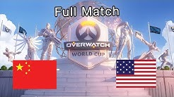 Full Match | China vs United States - 2019 Overwatch World Cup Finals