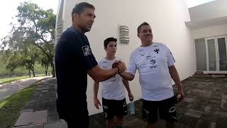 La experiencia del Rayado por un día con los ganadores Brandon González y Cornelio Sánchez
