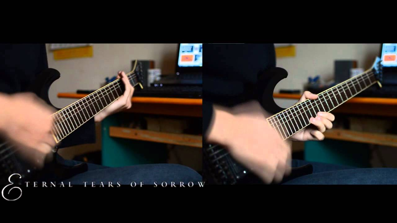 eternal-tears-of-sorrow-the-river-flows-frozen-solo-cover-backing-track-solo-opeth963