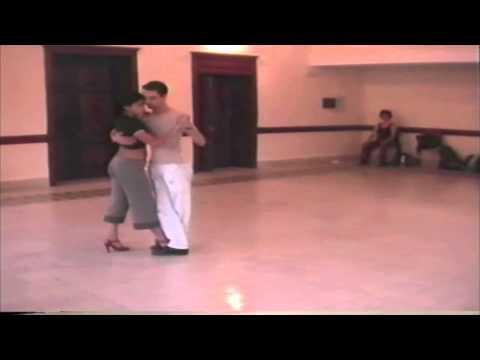 Javier Rodriguez y Geraldine Rojas Lezione di tango 1 Fivizzano 2002 di Francesco El Actor