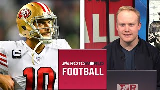 NFL Divisional Round Preview | Rotoworld Football Podcast | NBC Sports