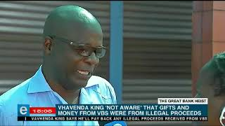 VhaVenda king offers to return money to VBS Bank