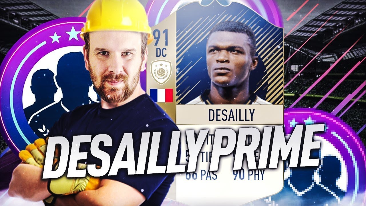 FIFA 18 - LE SBC PRIME DU GRAND MARCEL DESAILLY LE MOINS CHER POSSIBLE !