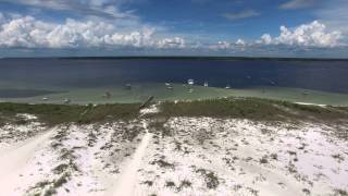 Rosemary Beach Florida / Shell Island : DJI Phantom 3 Professional 4K Drone