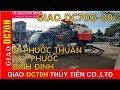 T TIÊN Giao và bán máy gặt Kubota DC70G hàng nhập đi PHƯỚC THUẬN  TUY PHƯỚC  BÌNH ĐỊNH 01239000100