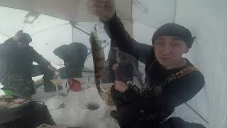 Рыбалка на озере проверка тычек есть БОНУС