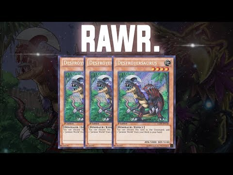 [Yu-Gi-Oh! Duel Links] DINO DECK *Back From Extinction*   King of Games