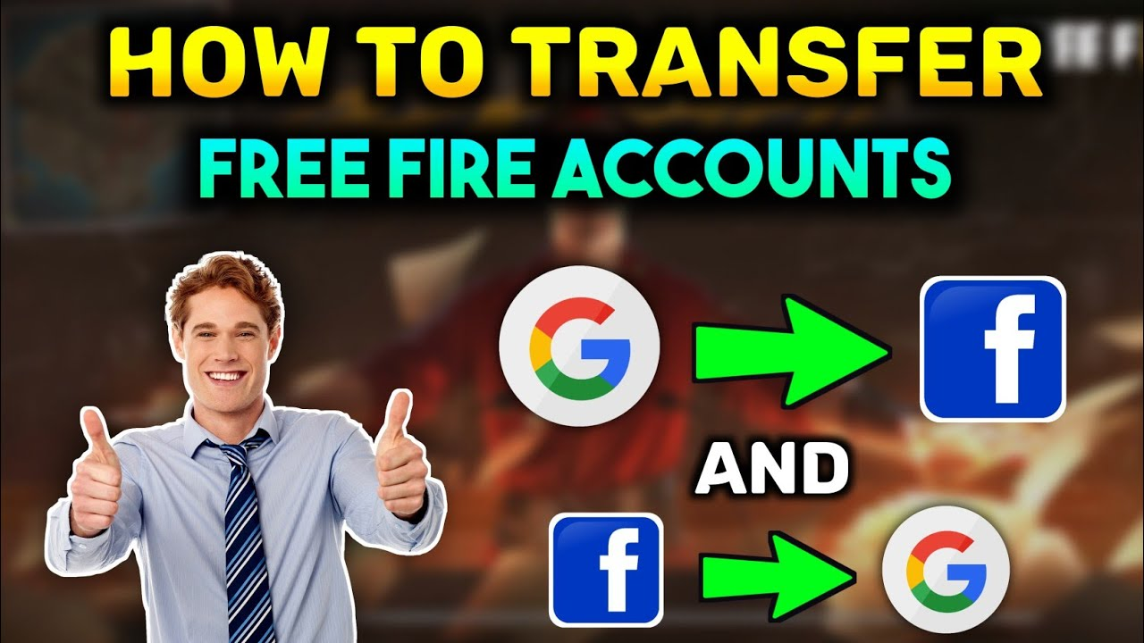 How To Transfer Free Fire Google Account To Facebook Account Change Free Fire Login Account 2021 Youtube