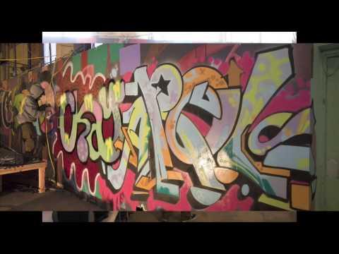 graffiti artists @ c{space  Dayton Ohio USA