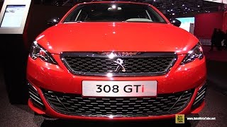 2017 Peugeot 308 GTi - Exterior and Interior Walkaround - 2016 Paris Auto Show