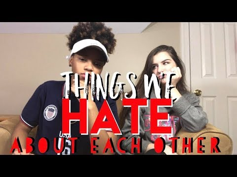 5 THINGS WE HATE ABOUT EACH OTHER!   E&K Forever