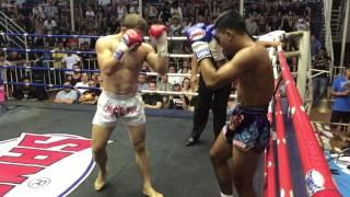 Rafael Fiziev PhuketTopTeam vs O A Seed Patong - Muay Thai Championship fight 30 Dec 2016
