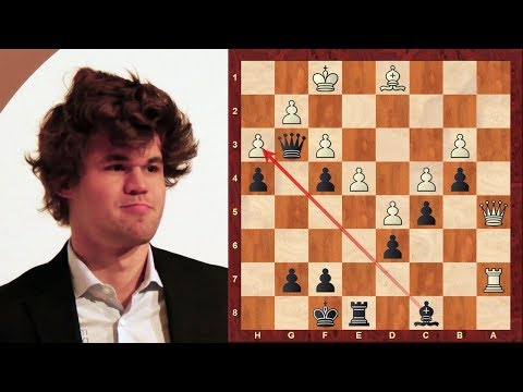 Magnus Carlsen wins 2015 FIDE World Rapid Championship! Notable games