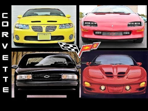 5 Cars You Wouldn't Believe Came With CORVETTE Engines From Factory UNDER $10K!!