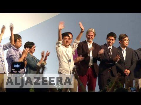 Hong Kong election: Pro-democracy activists make gains