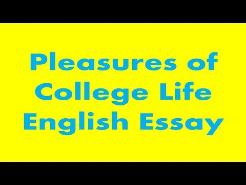 Thesis Of An Essay  English Essay Com also Examples Of Thesis Statements For English Essays Pleasures Of College Life English Essay  Education And Training Short Essays For High School Students