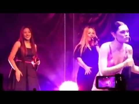 Morisette  gets asked to sing with Jessie J and kills it