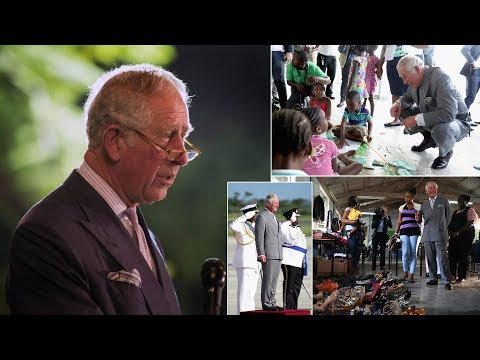 Prince Charles describes hurricane devastation as 'utterly heartbreaking' in Caribbean visit