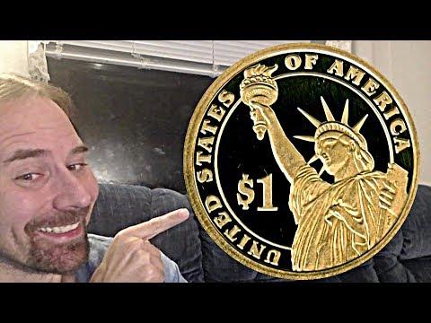 1 Dollar 2009 S Proof William Henry Harrison Presidential Dollar