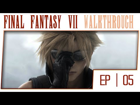 Final Fantasy 7 HD Remaster - Part 5 - The Flower Girl [Boss: Air Buster][No Commentary]